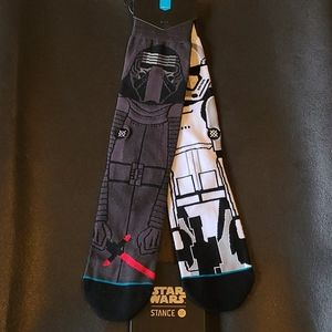 "NWT Stance socks ""Disturbance"" Size L 9-12"